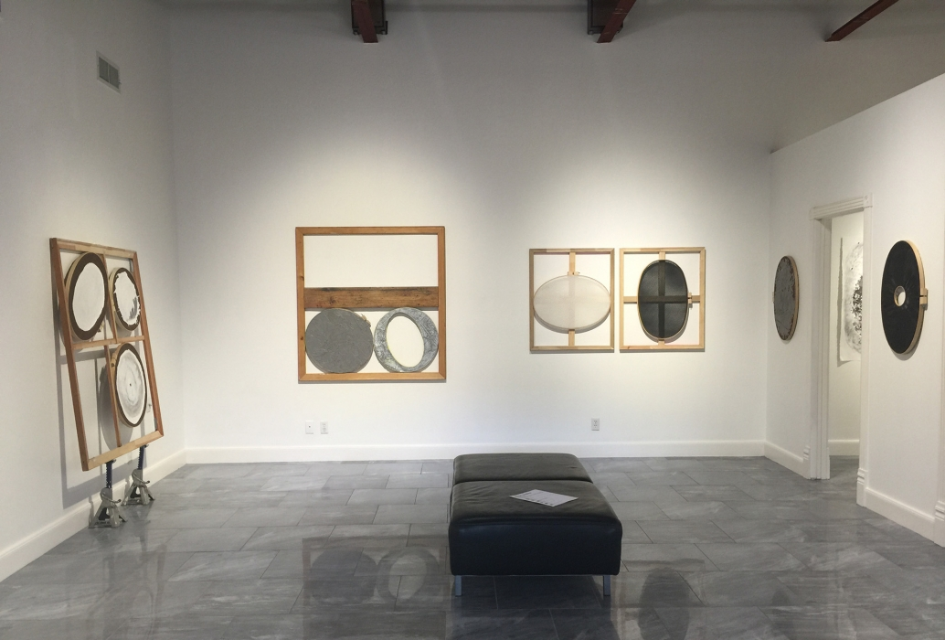 An installation view