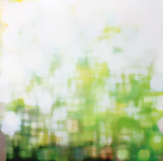 Sunlight Abstraction Intermediate II (digital artwork)