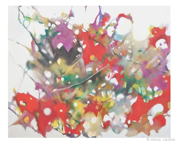 Paintings From the Hedge ~ Abstraction I