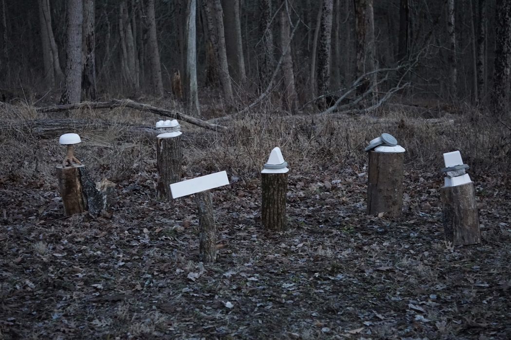 Stacks // nighttime installation
