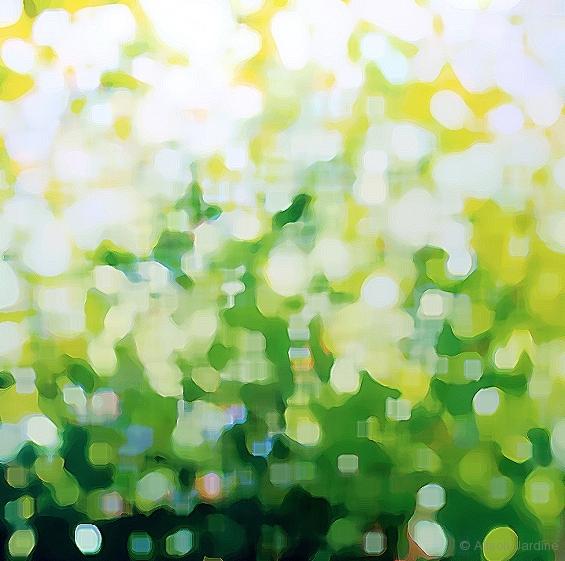 Sunlight Intermediate Abstraction (digital artwork)