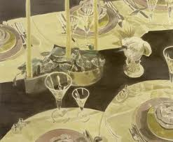 The Perfect Table Setting - Luc Tuymans
